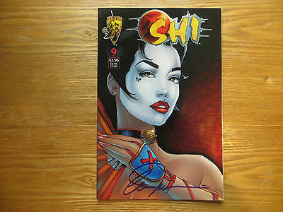 1996 Crusade Comics Shi # 9 Signed By Creator Billy Tucci, With Poa