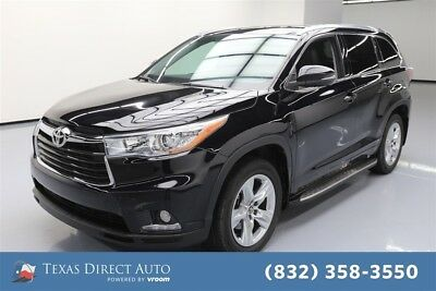 Toyota Highlander Limited Texas Direct Auto 2016 Limited Used 3.5L V6 24V Automatic FWD SUV