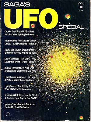 Saga's UFO Special Report Vol. III Apollo 12 Secret Messages Space Vintage Mag