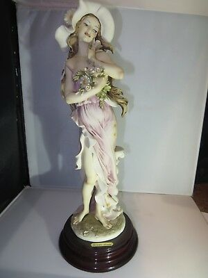 Classical Guiseppe Armani Florence Italy Figurine Woman Pre-owned