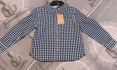 boys john lewis checked shirt age 18-24 months