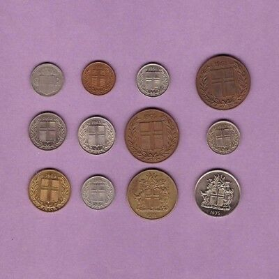 Iceland (1922-1975) - Coin Collection Lot # Z-11 - World/Foreign/Europe