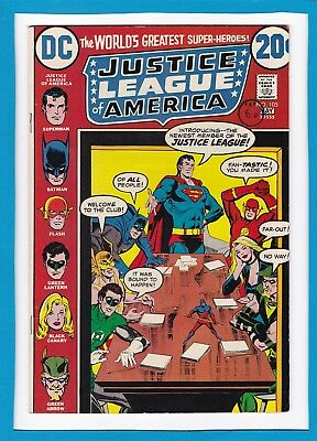 """Justice League Of America #105_May 1973_Vf Minus_""""specter In The Shadows""""!"""