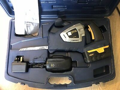 Performance Power Pro 18v Cordless Reciprocating Multi Saw COD18VMS Set In Case