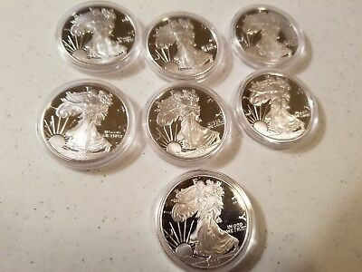 2009 Silver Eagle Tribute Proof with Certificate of Authenticity