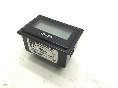 New Redington 3410-2010 Electronic Totalizers & Hour Meters 10-300VDC/20-300VAC