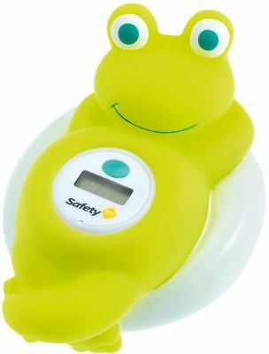 Safety 1st BATH THERMOMETER DIGITAL FROG Fun Safe Digital Screen Floating BN
