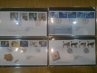 GB QE2 1997 11 First Day Covers