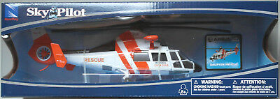 NewRay Airbus Helicopters Dauphin HH-65A Rescue WINDEA CARE Heli 1:48 Neu/OVP
