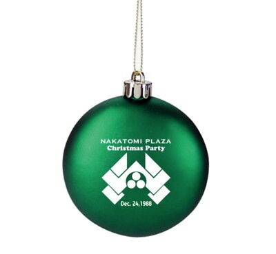 Nakatomi Plaza Die Hard Movie Prop Holiday Party Christmas Tree Ornament Lim. Ed