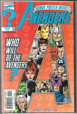 The Avengers #4 (Vf/nm) 1St Appearance Of Warbird