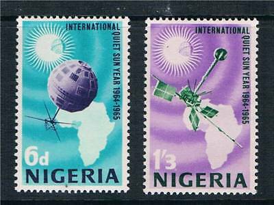 Nigeria 1965 Quiet Sun Years SG 161/2 MNH