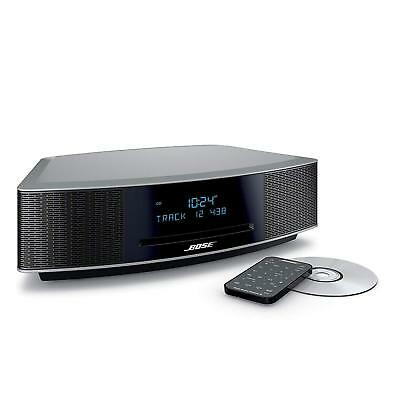 Bose Wave Music System IV with Remote, CDPlayerandAM/FMRadioPLATINUMSILVER  6