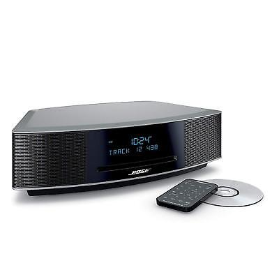 Bose Wave Music System IV with Remote, CDPlayerandAM/FMRadioPLATINUMSILVER  77