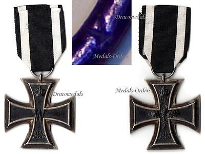 GErmany WW1 Medal Iron Cross EK2 Mkr K Military Decoration WWI 1914 1918 German
