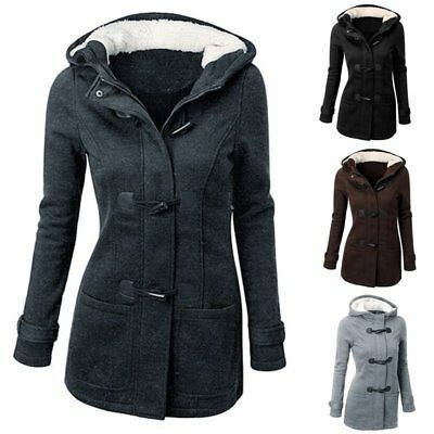 Winter Women Lady Thicken Warm Coat Hood Parka Long Jacket Overcoat Outwear FG