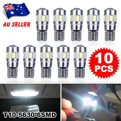 T10 6 SMD 5630 CREE CHIP LED Canbus Parking 3W 12V W5W Side 168 194 Light White
