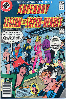 Superboy & Legion Of Super Heroes #257 (Dc 1979) Vf- First Print Bagged