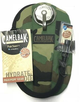 Camelbak PAKTEEN MIL SPEC  Hydration pack US Army WCP Woodland Camouflage 1.5Ltr