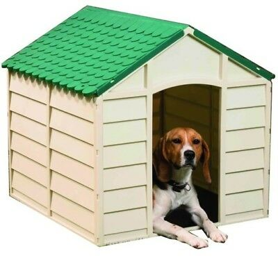 Casette P/cani Dog-Kennel Pp Medium Bianco/verde 71X71X68H