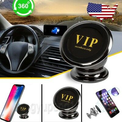 Dashboard Magnetic Phone Holder Car Mount For iPhone XS X Galaxy Note 9 S9 Plus