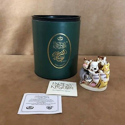 Disney Winnie the Pooh & Friends Harmony Kingdom new in box figurine retired