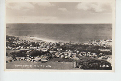 Elevated view of North Berwick from The Law, East Lothian
