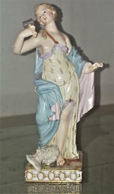 Rare 18th C Kaendler's Meissen 'The Art of Sculpture' Porcelain Figurine C 1774