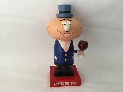 "Vintage 1970's Canada Dry advertising ""Pedrito"" wooden ""Ole!"" Figurine"