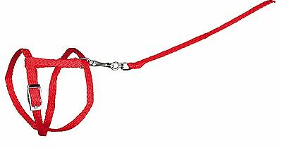 6150 Trixie Nylon Harness With Lead for RABBIT & GUINEA PIG 25-44cm x 8mm