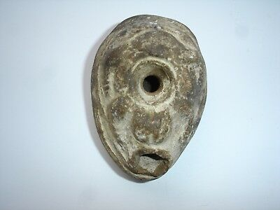 Ancient Romano- Egyptian Frog oil lamp