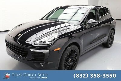 Porsche Cayenne  Texas Direct Auto 2016 Used 3.6L V6 24V Automatic AWD SUV Premium