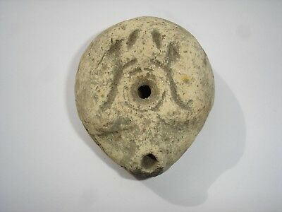 Ancient Romano-Egyptian Frog oil lamp