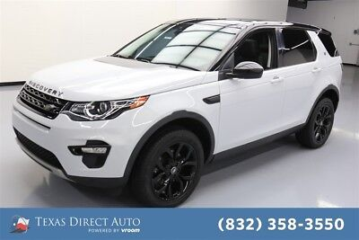 Land Rover Discovery Sport HSE Texas Direct Auto 2015 HSE Used Turbo 2L I4 16V Automatic 4WD SUV Premium