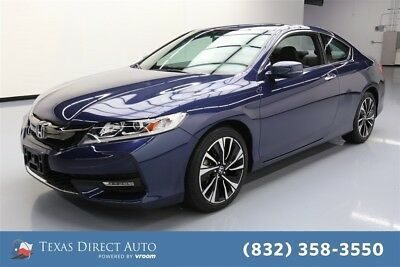 Honda Accord EX-L Texas Direct Auto 2016 EX-L Used 2.4L I4 16V Automatic FWD Coupe