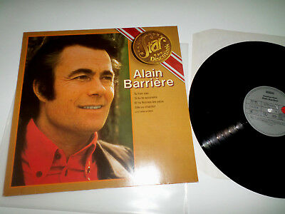 ALAIN BARRIERE - STAR DISCOTHEK - LP In EX!!