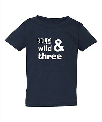 Three Year Old 3 Yr Third 3rd Birthday Party T-Shirt