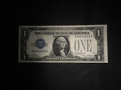 1928 One Dollar $1 Funny Back Silver Certificate- Nice Note