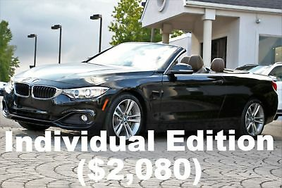 BMW 4-Series 435i Convertible Individual Edition 2016 Individual Edition Technology PKG Citrin Black on Nutmeg Extended Merino
