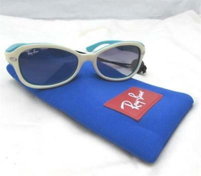Ray-Ban Junior Girl's Blue & White Sunglasses RJ90445 W/ Soft Case