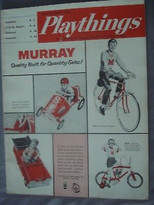 Playthings December 1964 Pedal Cars Bicycles Toys National Magazine of Toy Trade