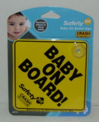 Safety 1st Baby On Board Sign The Original Baby On Board Sign New