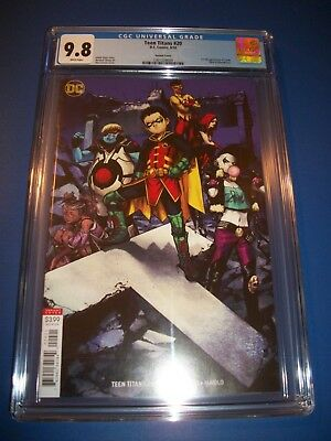 Teen Titans #20 1st Crush Garner Variant Awesome! CGC 9.8 NM/M Gorgeous Gem Wow
