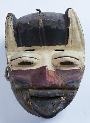 Dan Guere (We) Poly-chrome Mask, Authentic African tribal Art