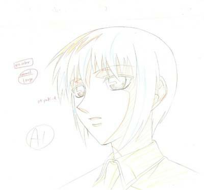 Anime Genga not Cel Fruits Basket  #57