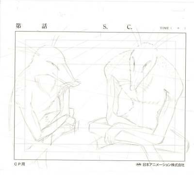 Anime Genga not Cel Hunter X Hunter #93