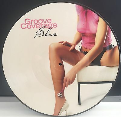 """Groove Coverage - She 12"""" Vinyl  Picture Disc"""