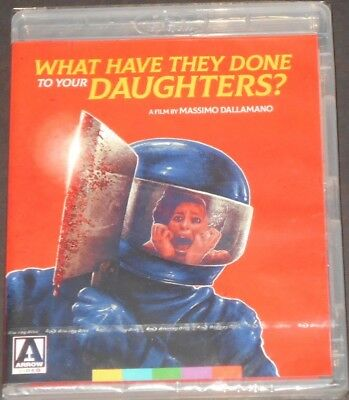 WHAT HAVE THEY DONE TO YOUR DAUGHTERS usa blu-ray NEW SEALED horror CULT