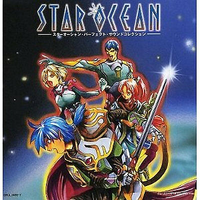 STAR OCEAN GAME Music Soundtrack Japanese CD Perfect sound collection