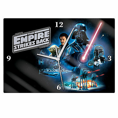 Official Licensed Star Wars THE EMPIRE STRIKS BACK Clock Pool Room or Man Cave